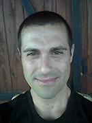 Selfie Carlos blanco negro